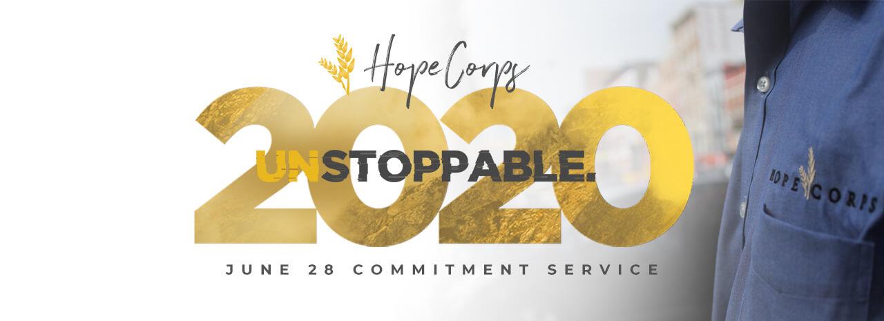 Hope Corps 2020 Enrollment