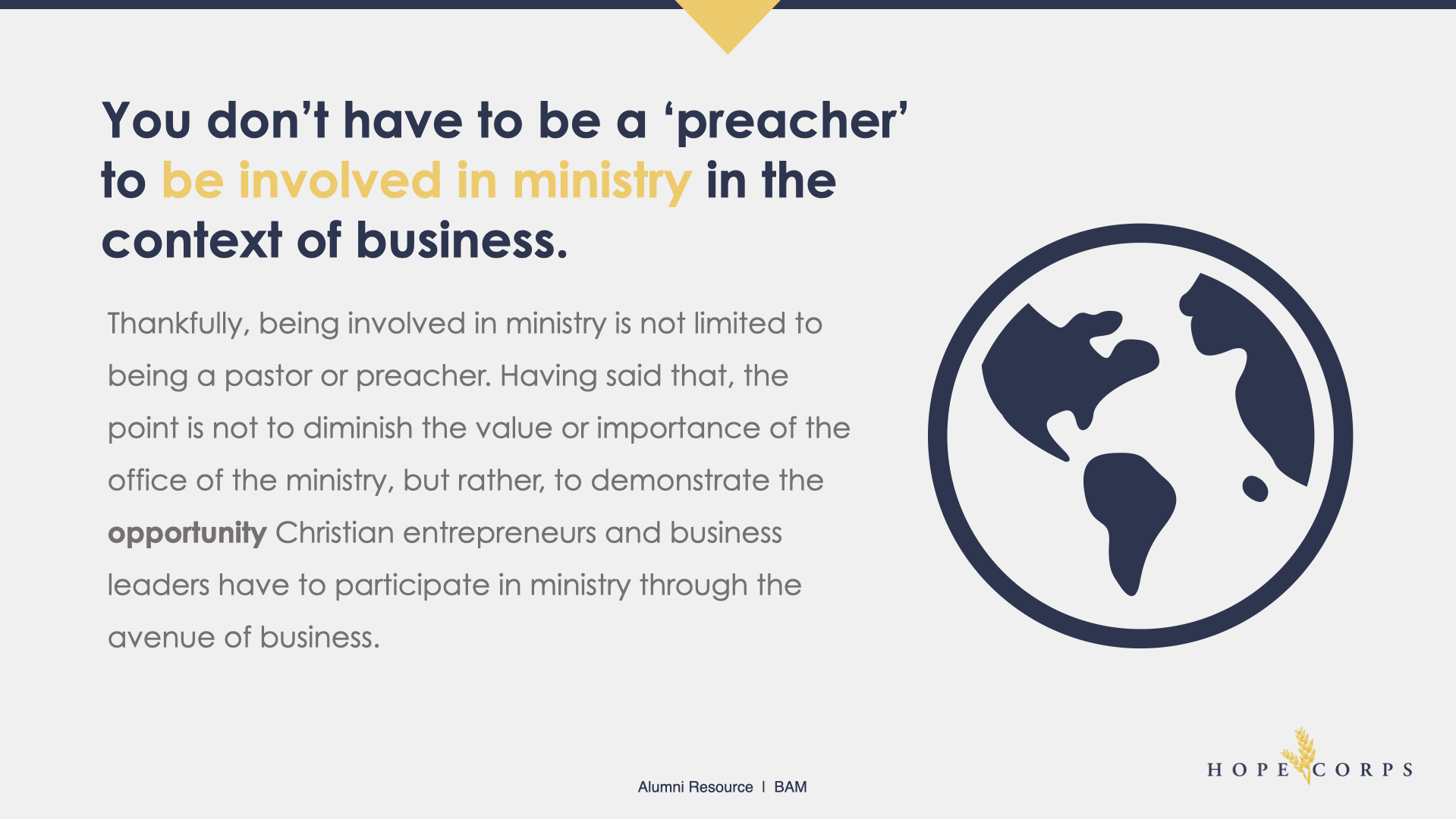 Hope Corps BAM | Ministry In The Context Of Business.005