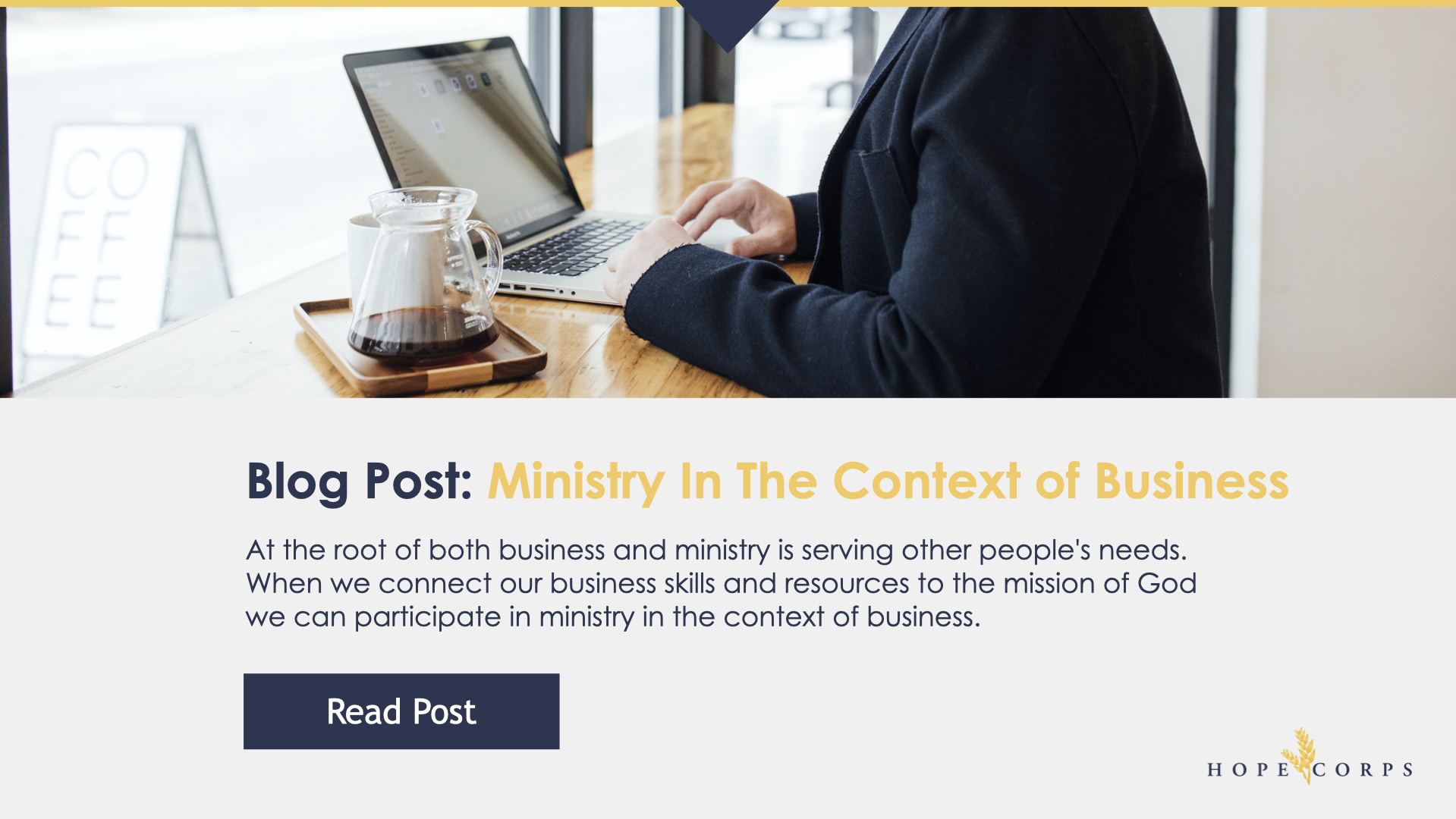 Hope Corps BAM | Ministry In The Context Of Business.006
