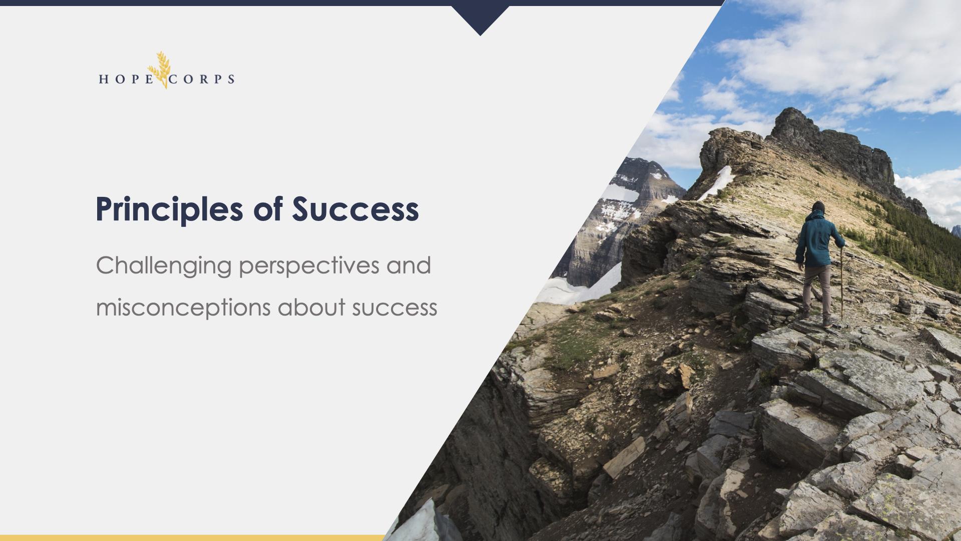Hope Corps BAM | Principles of Success.002
