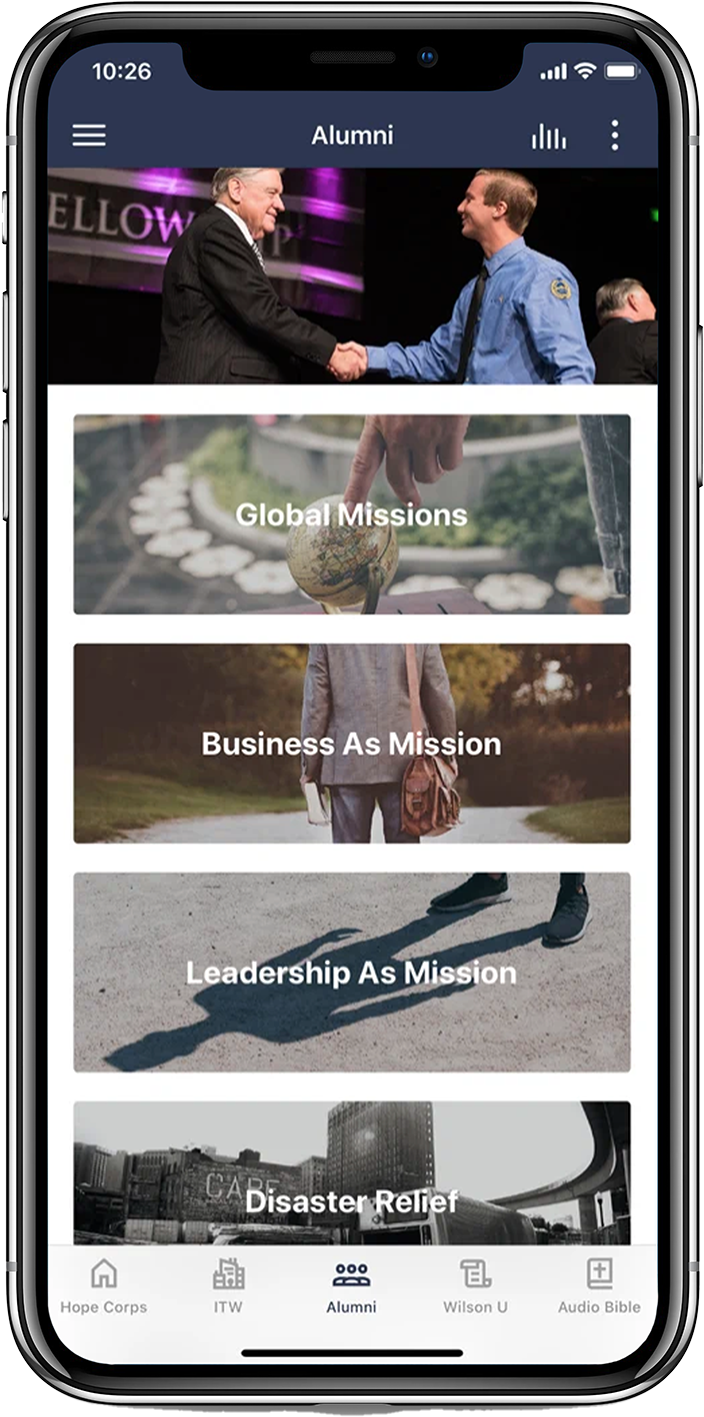 Download the Hope Corps App